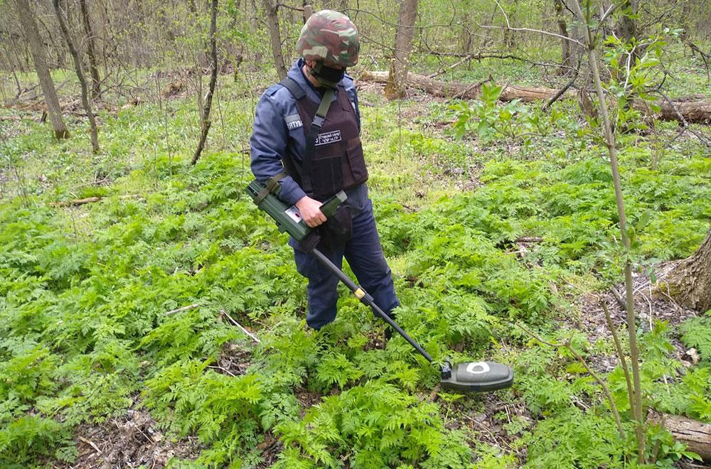 Піротехніки ДСНС продовжують розміновувати територію Донбасу
