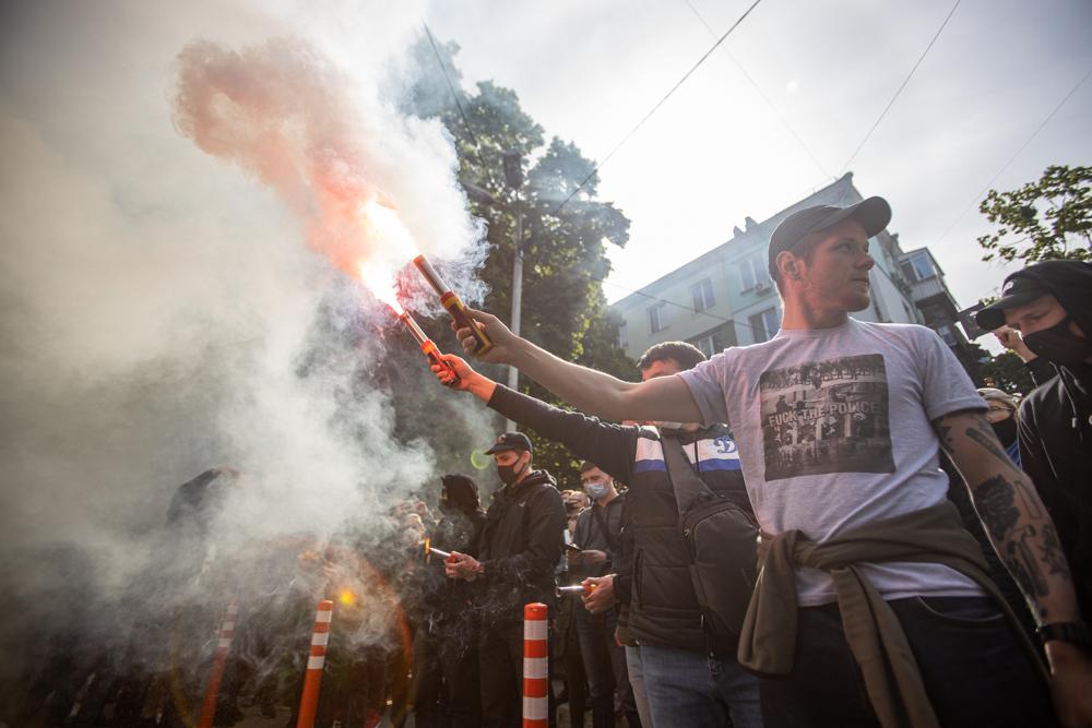Акція на підтримку Стерненка під СБУ у Києві