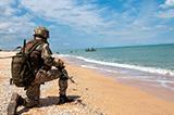 На узбережжі Азовського моря пройшли тактико-спеціальні навчання морпіхів