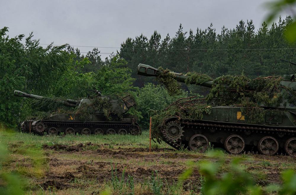 Артилеристи 93-ї бригади відпрацювали марш, розгортання в районі вогневих позицій