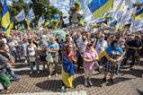 У Києві мітингували на підтримку Порошенка