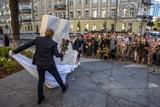 У Києві відкрили пам'ятник Павлу Шеремету