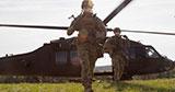 Українські спецпризначенці провели спільні тренування з авіаційним компонентом сил «BLUFOR»
