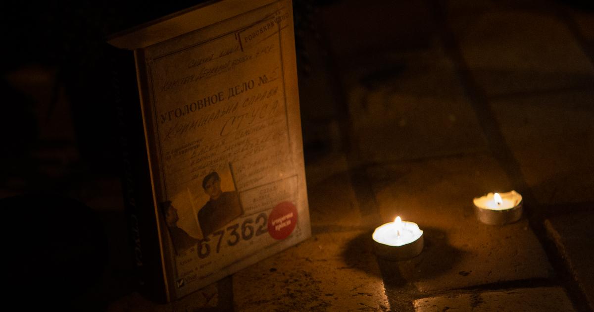 """Читання """"Справи Василя Стуса"""" при свічках"""
