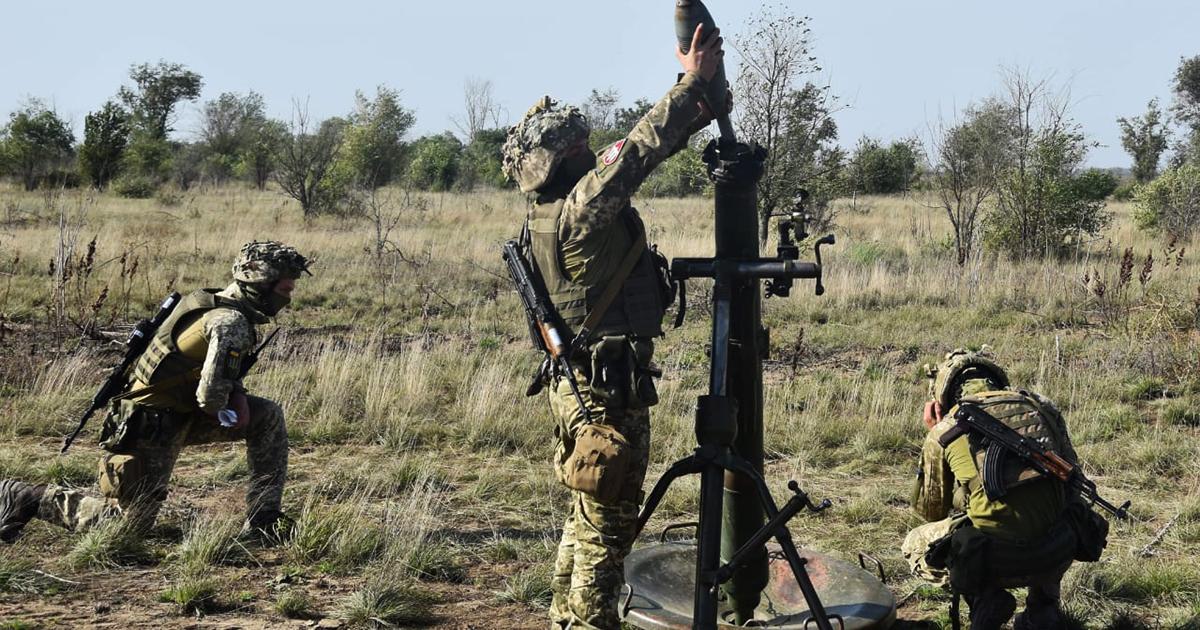 Мінометники Збройних Сил України вдосконалюють свої навички