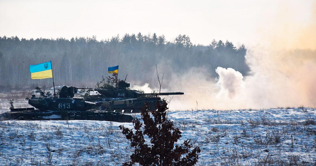 Бойова підготовка першої окремої танкової Сіверської бригади