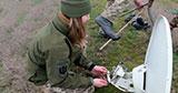 На Херсонщині пройшли тренування екіпажів польових вузлів зв'язку