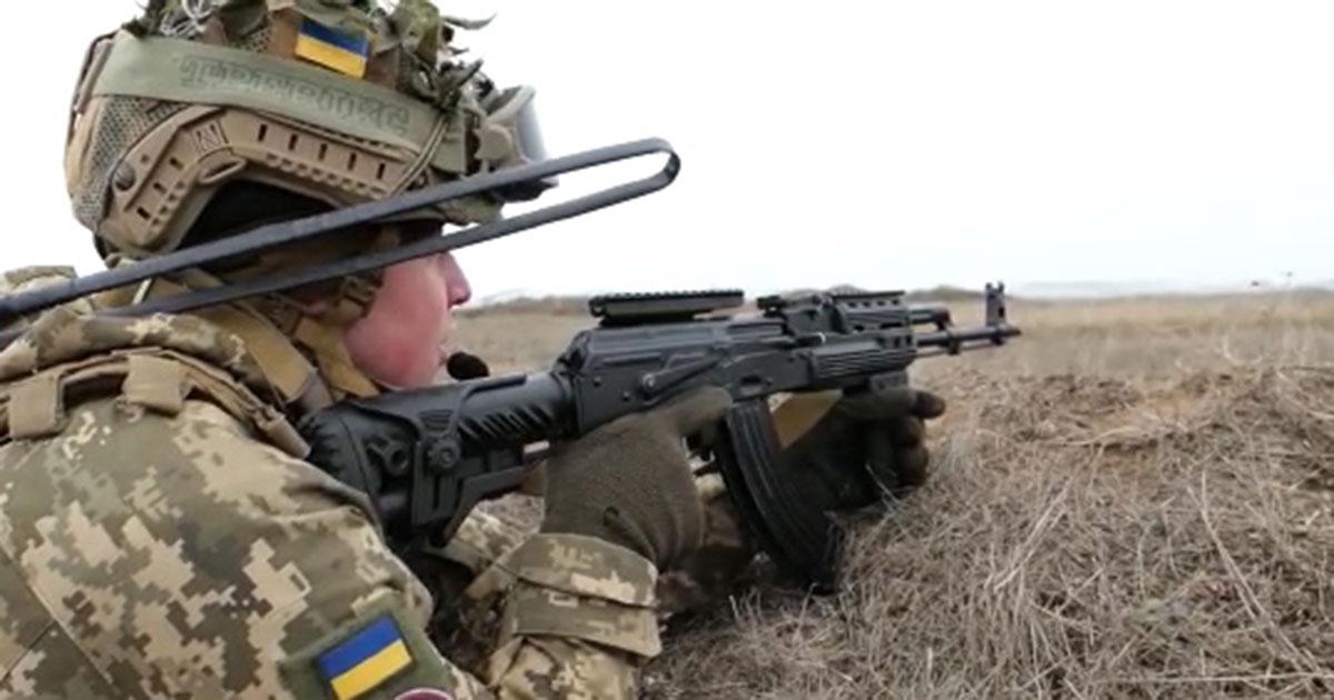На Херсонщині тривають тренування особового складу з відбиття збройного нападу противника