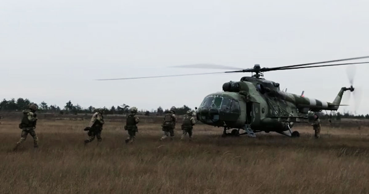 Українські десантники. З неба в бій