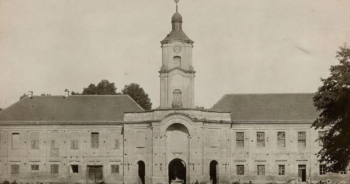 «Волинський Версаль» 100 років тому