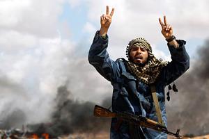 Смерть і насильство. Бойові дії в Лівії