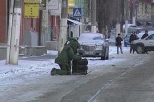 У неділю в центрі Києва невідомі розкидали муляжі бомб