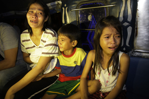 У нетрях філіппінської столиці, сильна пожежа лишила без даху 10000 філіппінців