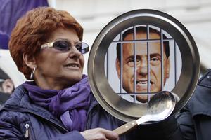Італійки вимагають відставки Берлусконі