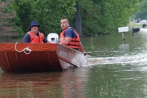 У США в результаті повені затопило п'ять штатів