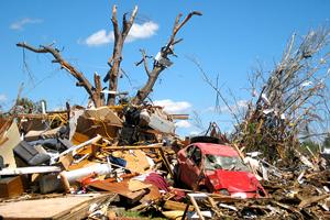 У США вирує рекордна кількість торнадо