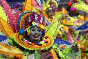 У Ріо-де-Жанейро пройшов бразильський карнавал