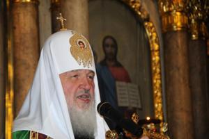Патріарх Кіріл відвідав Свято-Благовіщенський кафедральний собор у Харкові