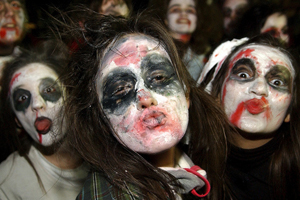 У Македонії пройшов карнавал наречених
