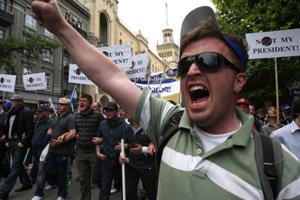 У Грузії бійці спецназу жорстко розігнали мітинг