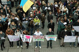 Protest sentiments gain ground in Ukraine