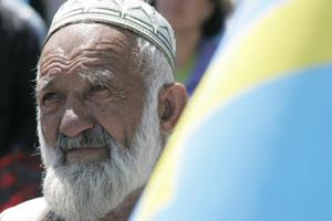 Мітинг з приводу 67-х роковин депортації кримських татар у Сімферополі