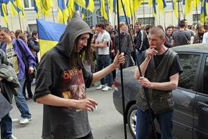 Мітинг на підтримку Віктора Януковича