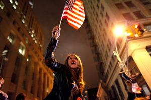 Американці святкують смерть Бен Ладена
