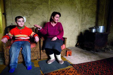 Для Ділляри Белялової та її молодшого сина - це перша зима у власному будинку