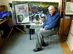 Художника Оскара Рабіна парижанином зробили уряд СРСР, позбавивши його громадянства,та мерія Праижа, надавши цю майстерню