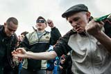 На Хрещатику відбувся парад гопників